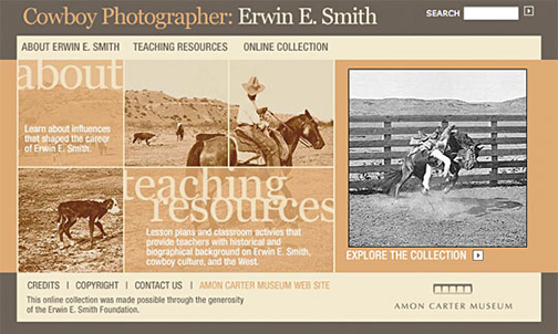 Amon Carter Museum Online Collection, Cowboy Photographer: Erwin E. Smith